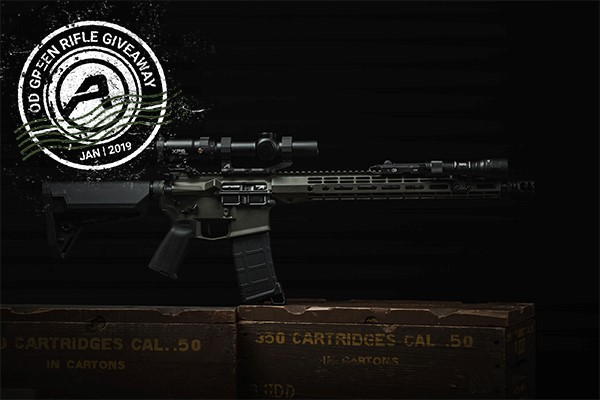 Aero Precision January AR-15 Rifle Giveaway