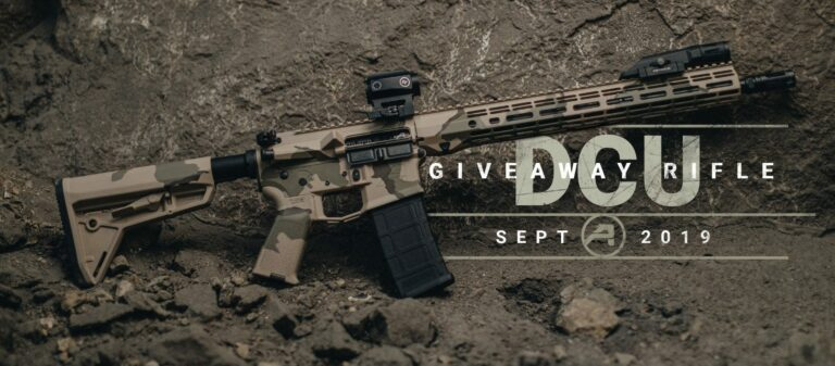 Complete AR-15 Rifle Giveaway - M4E1 with DCU Cerakote Finish