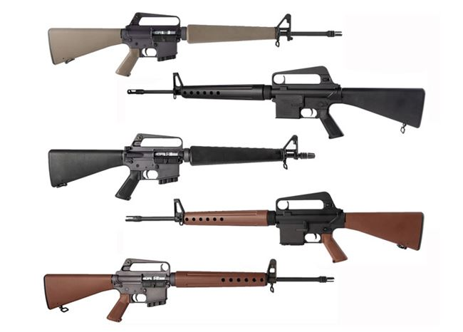 Brownells California-Compliant Retro Rifles