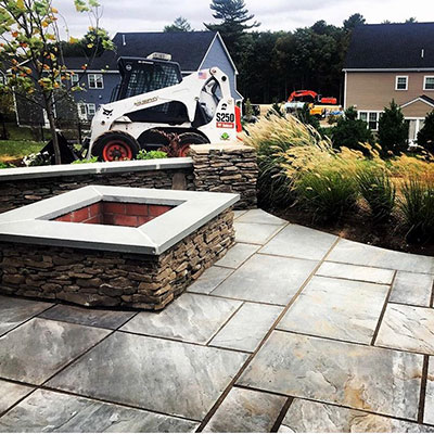 customer job B.C. Murphy Landscaping