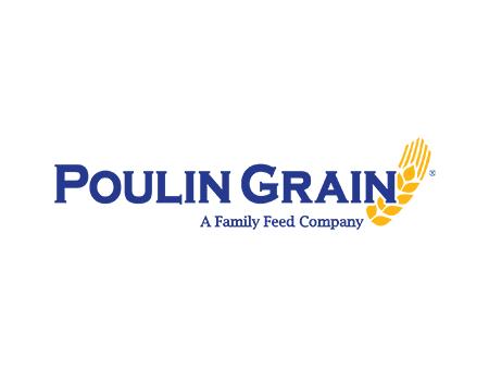 Poulin Grain Logo
