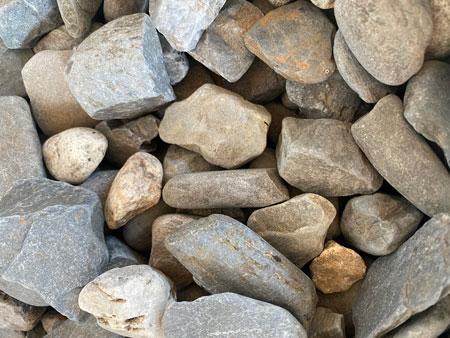 1 1/2 Round Grey Stone