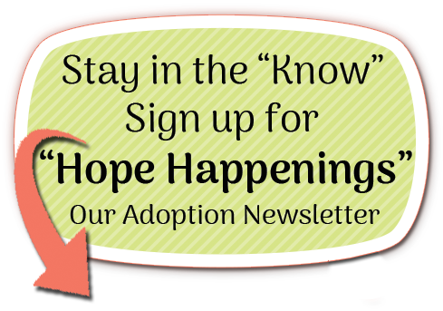 Hope centered Adoption Newsletter