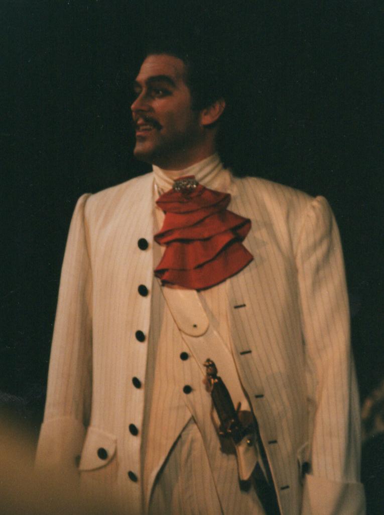 The Beggars Opera Captain MacHeath Theater Erfurt