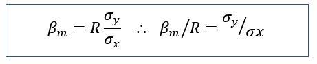 Alternative beta calculation