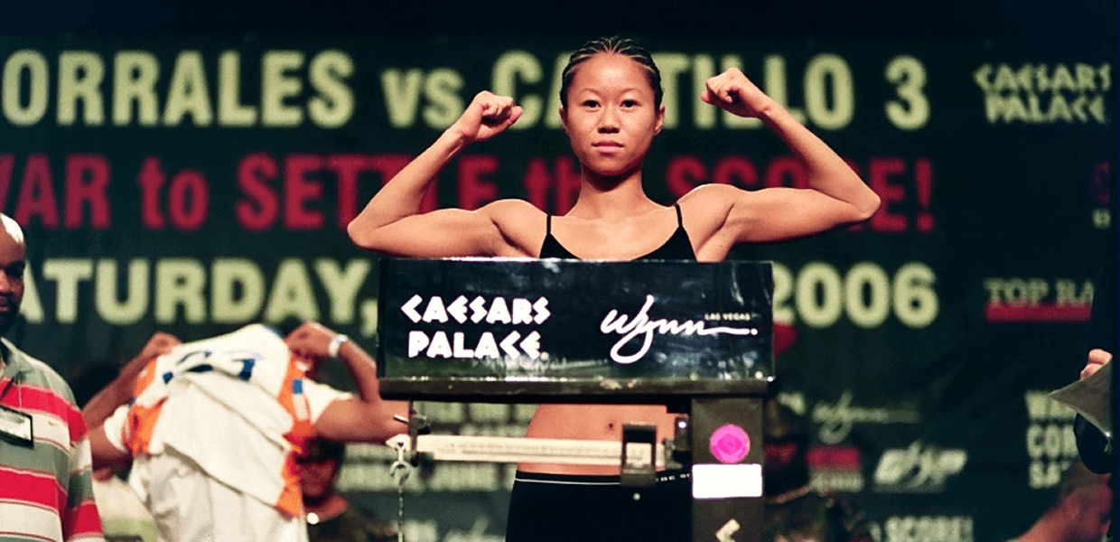 Christina Kwan - Boxing Champion Weigh In