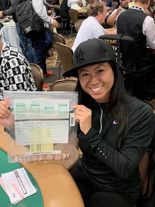 Christina Kwan World Series of Poker