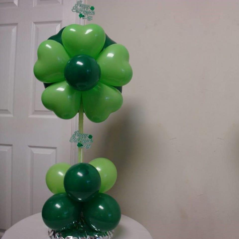 helium balloon decorations