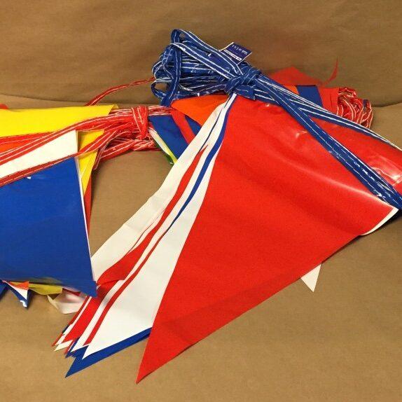 5' helium balloon pennant