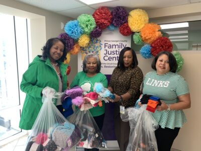 Prince George's County Chapter of Links Inc. Winter Donation Drive