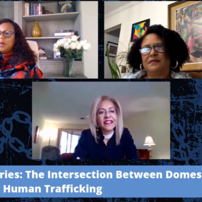 Code Blue Series, Session 5 – The Intersection between Domestic Violence and Human Trafficking