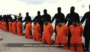 Egypt knew how to respond when this happened.  How long before we see a row of American prisoners?  Will it matter?