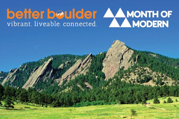 Month of Modern - Better Boulder