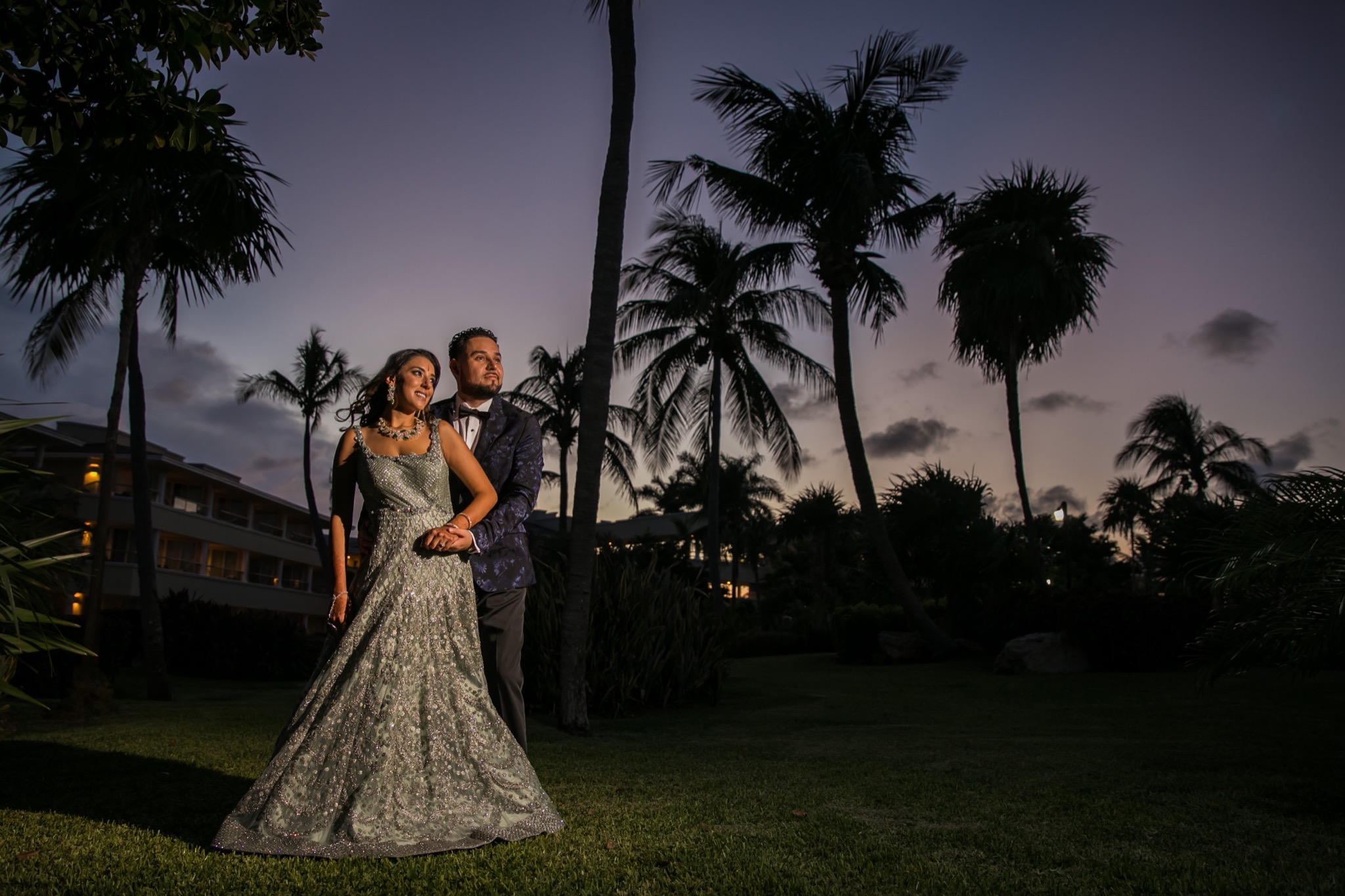 moon palace resort wedding