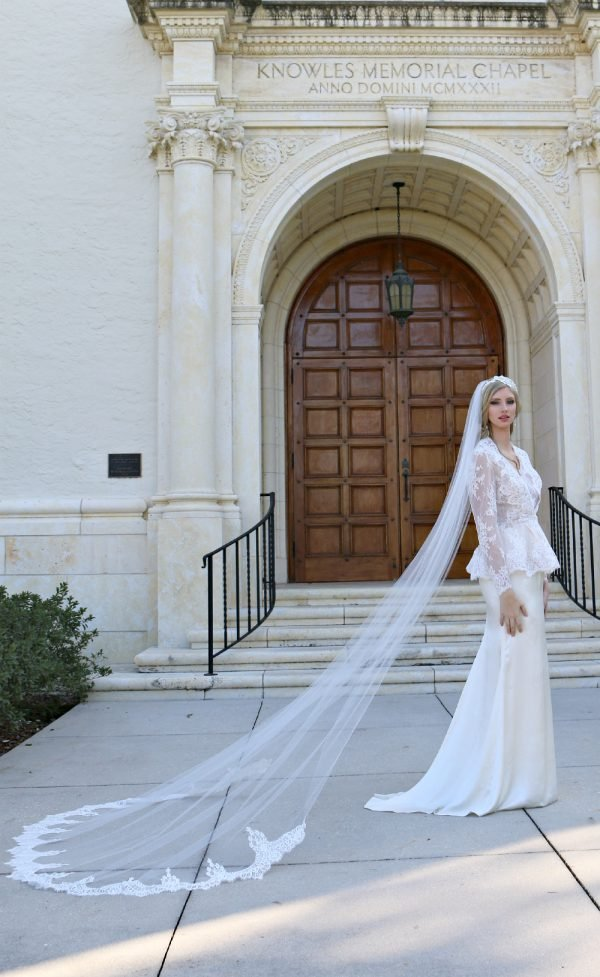 Amber Soft Silk wedding dress