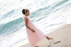 Flower girl Chiffon dress