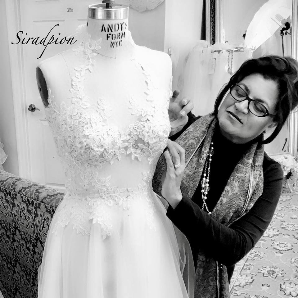 Siradpion Wedding Gown Design, Dress alterations near me