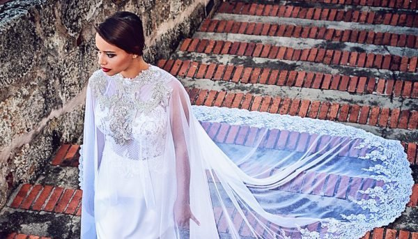 Wedding Gowns with Cape