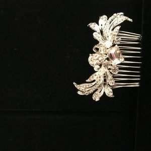 Side hair pin for bun