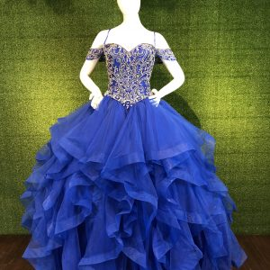Pageant Prom Gown