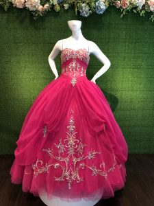 Hot Pink Quinceanera Dress