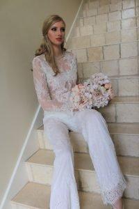 Beautiful Custom Lace Pants