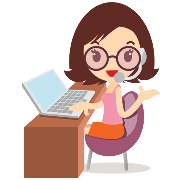 Woman-at-Desk-Logo