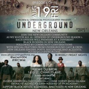 wcwm underground nola pt6
