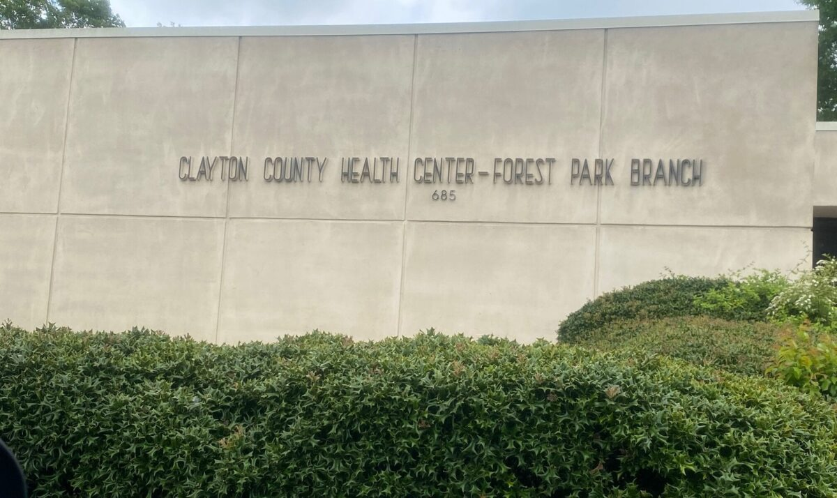 exterior of CCBOH building in Forest Park, GA