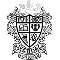 Riberdale High School crest with the words Truth and Honor