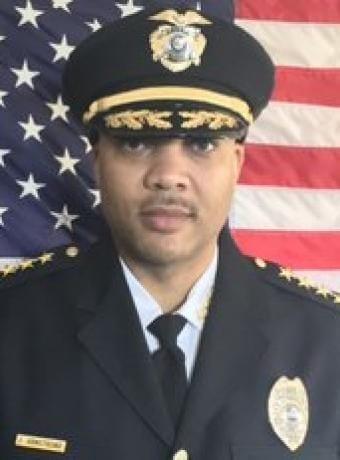 Ferguson, MO Police Chief Jason Armstrong