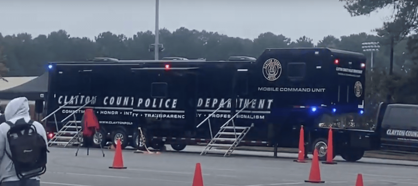 Clayton County Police Mobile Command Unit