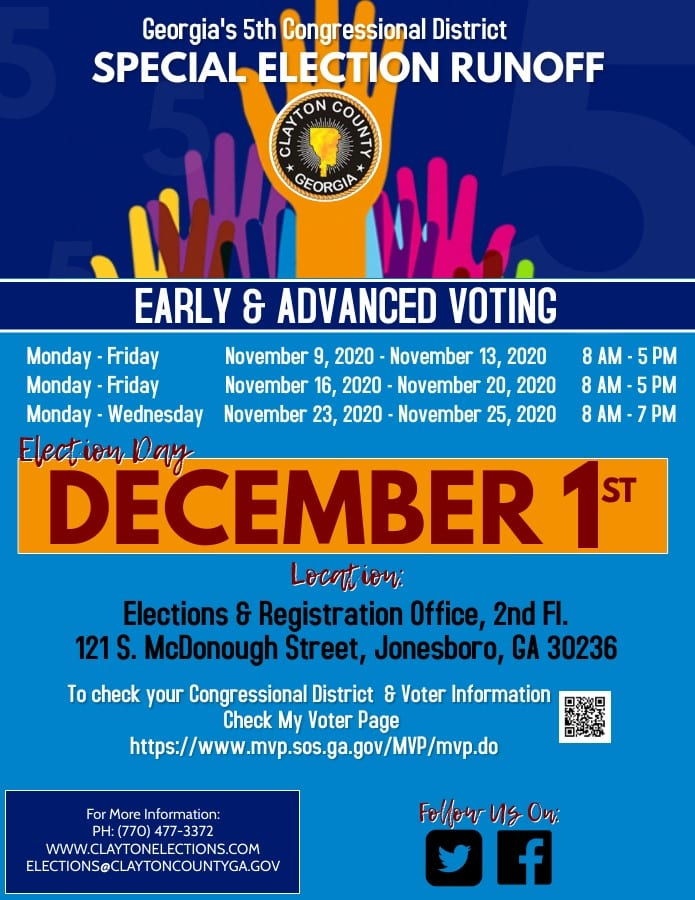Early voting underway for Dec. 1 House 5 runoff