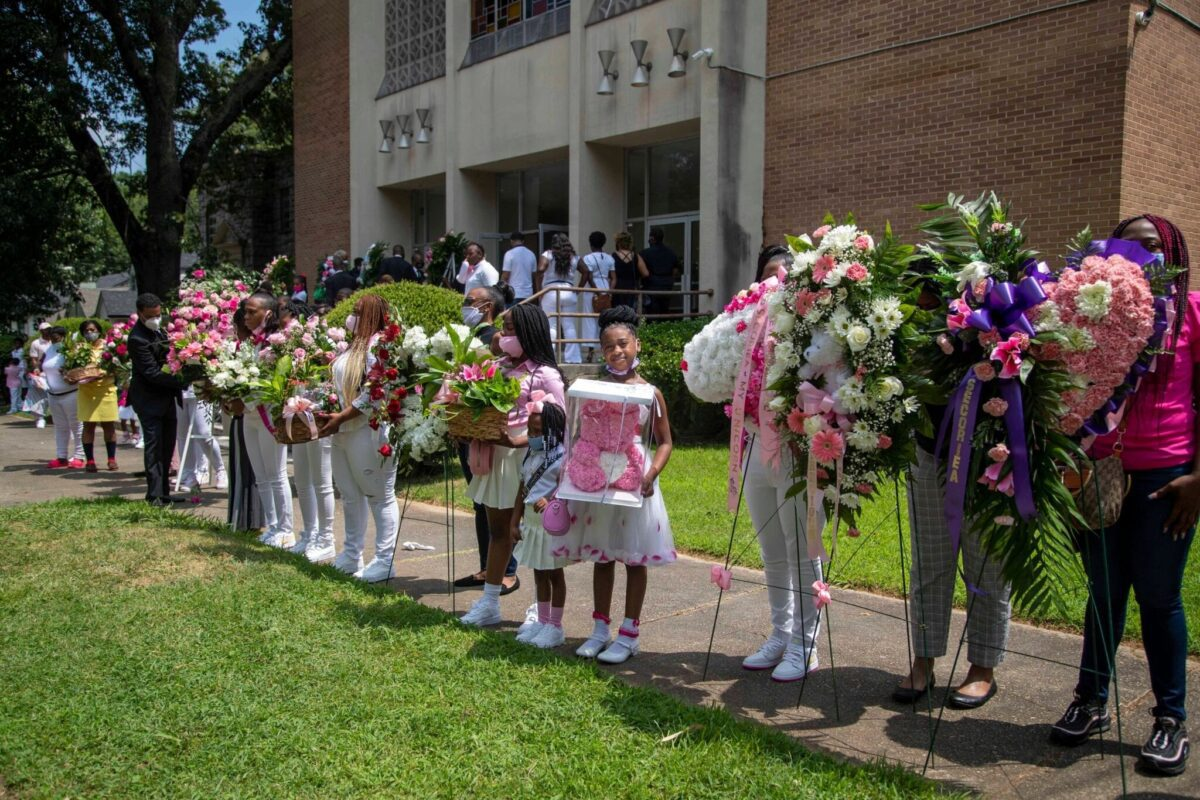 Photo of Secoriea Turner funeral used by permission: Alyssa Pointer/Atlanta Journal Constitution