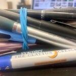 Clayton County jail bans ink pens