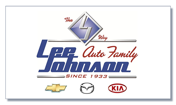 Lee Johnson auto family logo