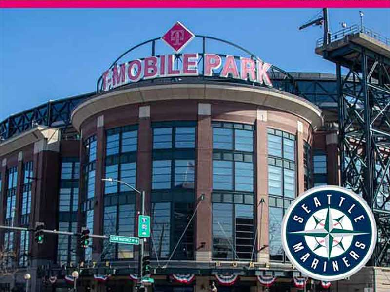 Exterior of entrance to T-Mobile Park