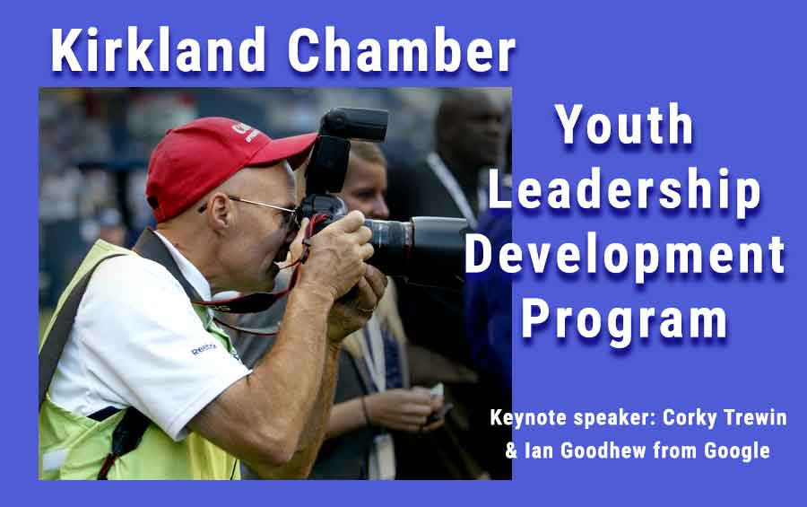 Youth Leadership Virtual Lunch Promo image
