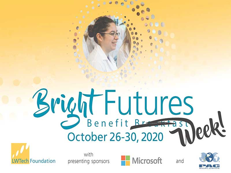 LWIT Bright Future 2020 Benefit Week Advertisement