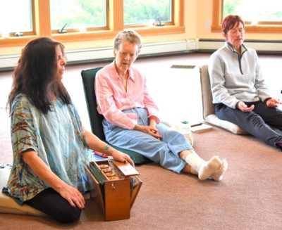 participants at a circlework retreat