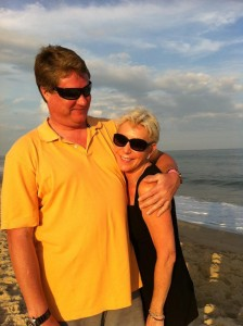 MELANIE AND DAVID- AMAGANSETT JULY 4 2012