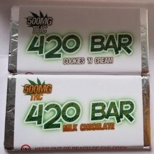 420 Bar - THC Chocolate Weed Delivery