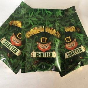Green Gold Shatter Concentrates