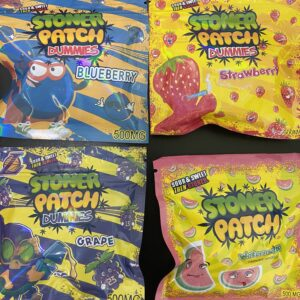 Stoner Patch Kids Edibles Gummies - London Ontario Same Day Weed Delivery