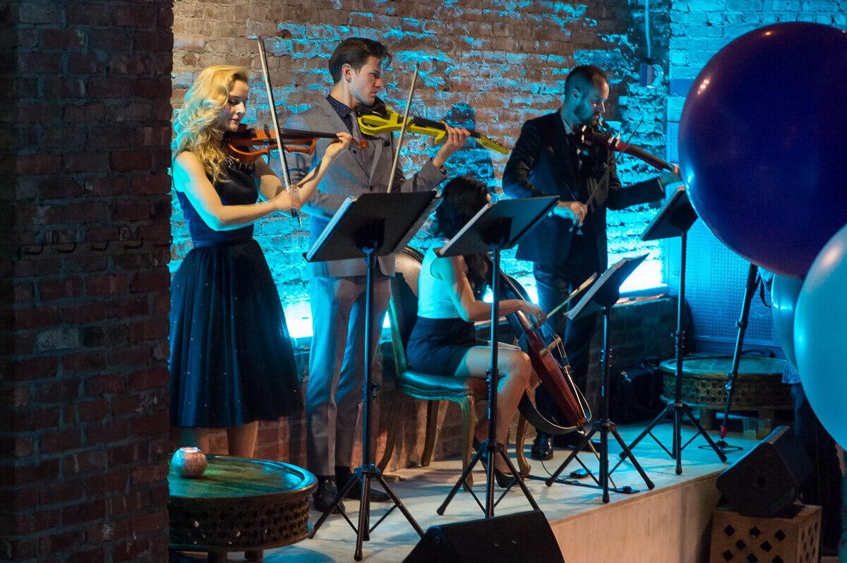 Charleston electric string quartet