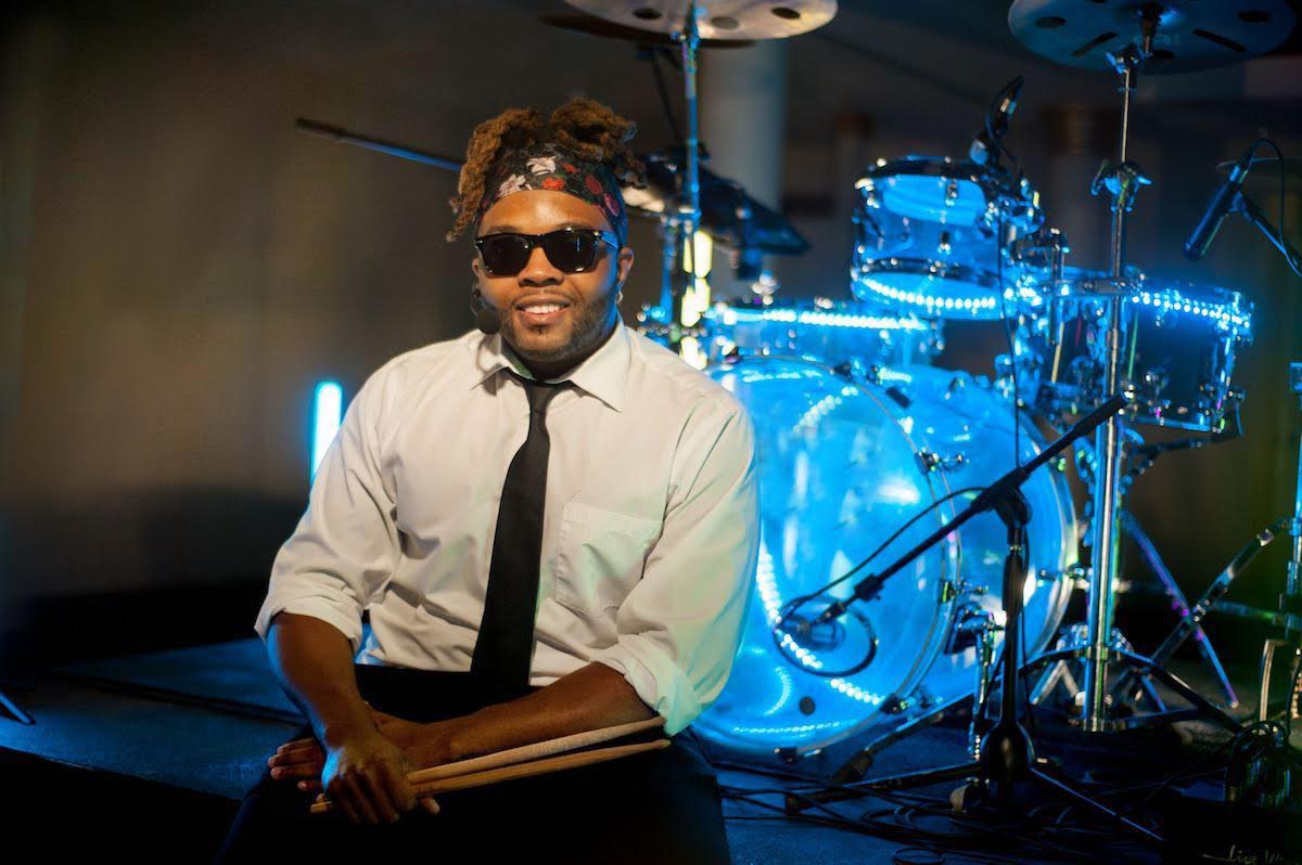 Charleston Singing Drummer Quentin Ravenel band leader