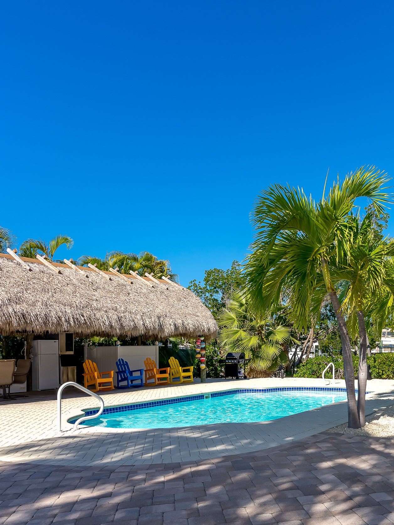florida keys vacation rental with pool and boat dock in Marathon