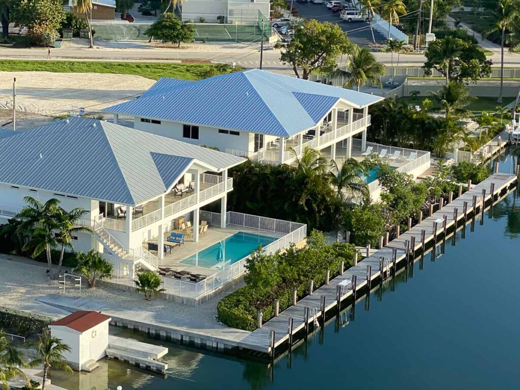 luxury vacation homes in Florida with dock - Grouper & super grouper