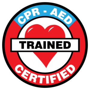 CPR AER Certification Seal