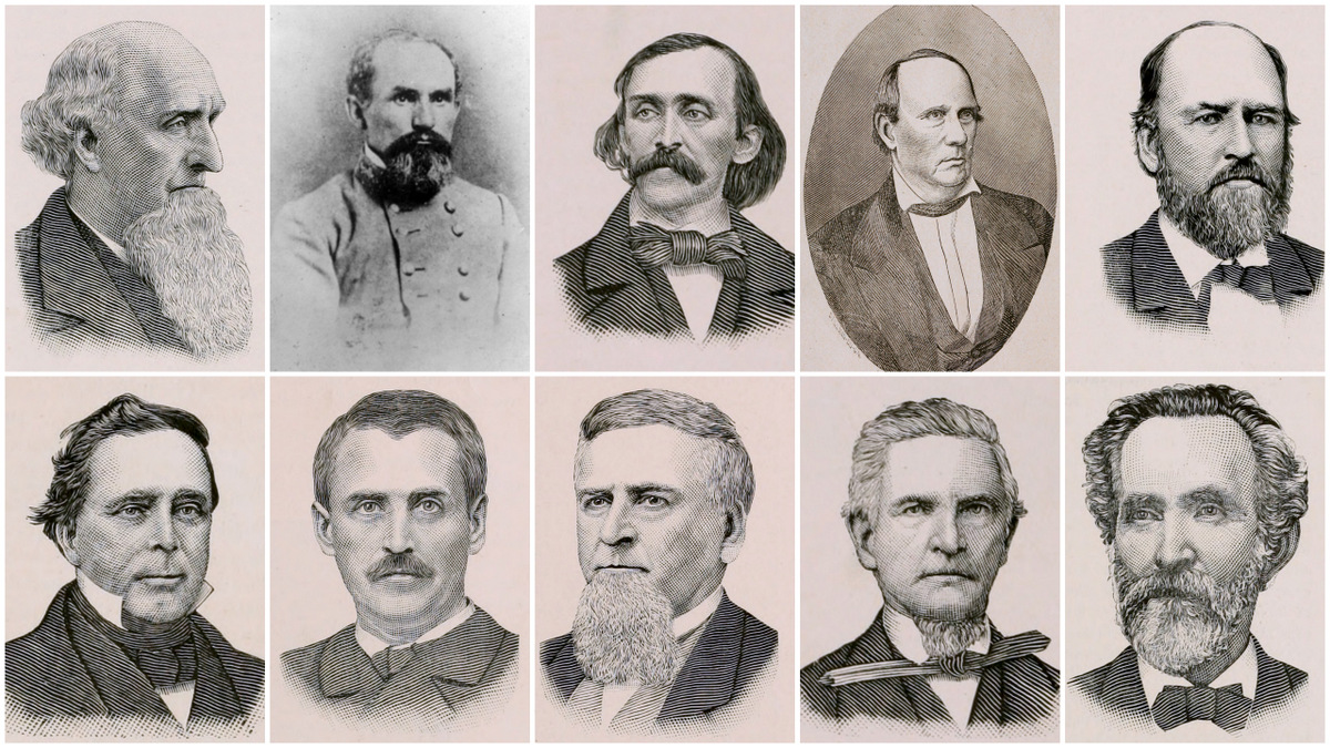Key figures in the history of the Memphis, Clarksville & Louisville Railroad